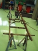 The MG TA chassis for the Boat Tail MG