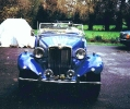 MG TD bought in for a chassis up rebuild.
